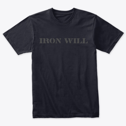 Iron Well Graphic Tee - Motivational T-Shirt